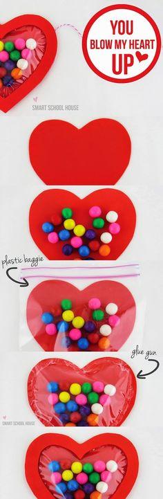 8 ideas DIY muy fáciles para San Valentín | Aprender manualidades es facilisimo.com