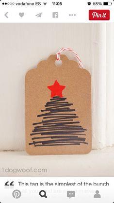 Simple Christmas tag