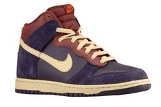NIKE DUNK HI (PORT WINE)- rustic look is easy as sunday morning