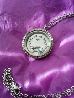 Mommy of an Angel Miscarriage Awareness by CustomLockets480