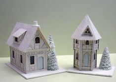 Free paper Textures for miniatures | to paper houses karen is one of our favorites her little tiny paper ...