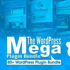 80+ Premium WordPress Plugins with 99% OFF  A rare once-in-a-lifetime Super Mega Bundle on all the best WordPress Plugins to take your site to the next level and beyond.
