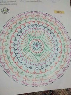 Most recent Pic Crochet Doilies flower Suggestions Best 12 Tinas Handwerk: 82 Designs und Muster Dreamcatcher & Mandala Motif Mandala Crochet, Crochet Circles, Crochet Motifs, Crochet Diagram, Crochet Stitches Patterns, Crochet Round, Doily Patterns, Crochet Chart, Crochet Squares