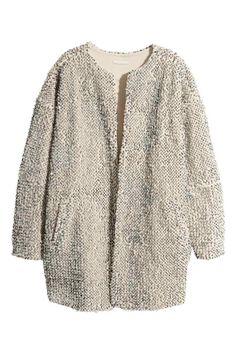 Giacca tipo pelliccia   H&M