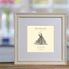 Cozy Bunnies personalised print £48