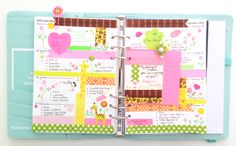 Colourful Creations #Filofax #Planner #Kikki-K #Stationery #Washi Tape