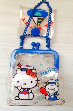 Hello Kitty Vintage Sweets ❤ 1976 vintage hello kitty coin purse I won on eBay