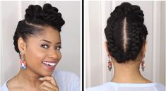 Natural twist styles, afro hair and beauty, loose hairstyles, bridal hairst Prom Hairstyles, Loose Hairstyles, Black Women Hairstyles, Braided Hairstyles, Trendy Hairstyles, Hairstyle Ideas, Grease, Natural Twist Styles, Long Length Hair