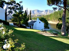 Hamilton Russell Vineyards in the Hemel Aarde valley near Hermanus, South Africa.