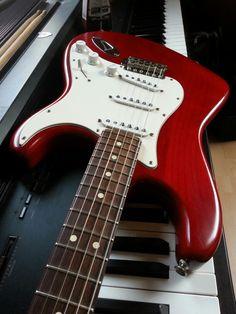 Fender stratocaster highway one (my guitar)