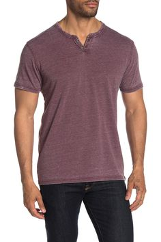 Lucky Brand Vintage Short Sleeve Henley In Port Royale Man Up, Vintage Shorts, Mens Tees, Vintage Fashion, Vintage Style, Lucky Brand, Casual Outfits, Short Sleeves, Mens Fashion
