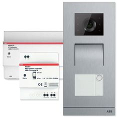 Welcome Door Entry System Single Family Kit Configurable with Smart Phones and Tablets, Silver