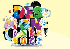 Type Illustration Project: Experimental Digital Workflow