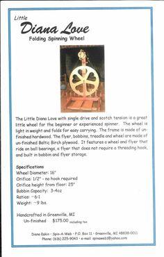 Inexpensive spinning wheel