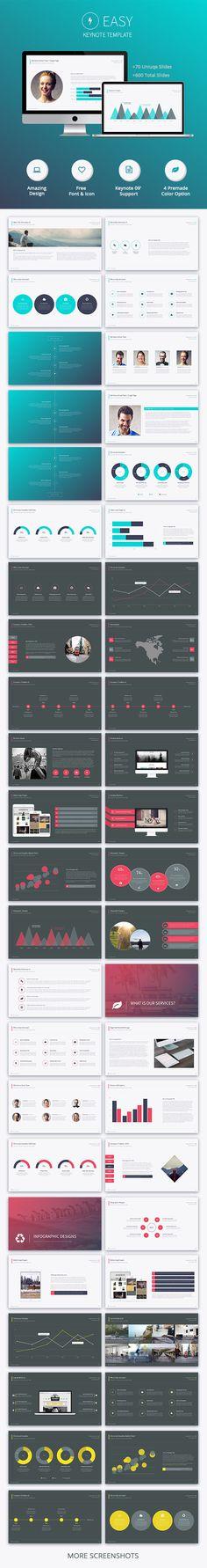 Easy Keynote Template #design Download: http://graphicriver.net/item/easy-keynote-template/11811289?ref=ksioks
