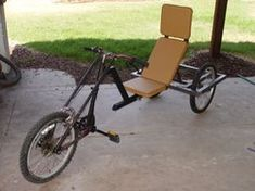 Our chocolate lab, Louie, just loves to run. His favorite used to be trotting along on a leash while I rode my bike. But a few weeks ago an. Velo Tricycle, Trike Bicycle, Recumbent Bicycle, Cargo Bike, Dog Trailer, Traction Avant, Scrambler Motorcycle, Girl Motorcycle, Motorcycle Quotes