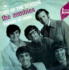 """The Zombies single picture sleeve for """"Time Of The Season,"""" 1969 - From the 1968 LP, """"Odessey And Oracle."""""""