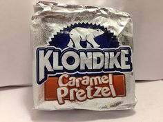 Crazy Food Dude Review: Klondike Caramel Pretzel Ice Cream Bars