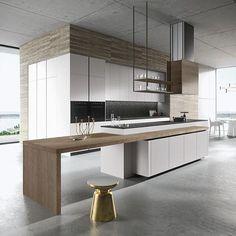 Clean lines... #kitchendesign #architecture #homedesign #lifestyle #style #buildingdesign #landscapedesign #conceptdesign #interiors #decorating #interiordesign