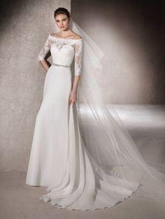Flared wedding dress Marisa