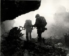 World War 2 - Rare Pictures of Battle of Okinawa | World War Stories. The cave to grave.