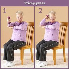 Physical activity is important when you have diabetes. Diabetic foot pain or flexibility don't need to keep you from exercising. Grab a chair and take a seat for these simple stretches, low-impact strength exercises, and cardio moves. Senior Fitness, Yoga Fitness, Fitness Tips, Fitness Routines, Fitness Exercises, Senior Workout, Aerobic Exercises, Stretching Exercises, Body Weight
