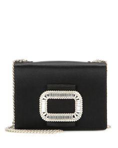 Roger Vivier - Black Tiffany Micro Embellished Shoulder Bag - Lyst Mail  Online c43a2d27d4ea2