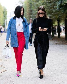 #parisfashionweek @gildaambrosio @giorgiatordini photo by @sandrasemburg @vogueparis #style#styling#stylish#street#streetstyle#fashion#fashionable#cool#instamood#denim#balenciaga#moda#shoes#loveit#streetlook#sexy#instyle#tagsforlikes#luks#followme#luxury#blogger#fashionweek#luxurystyle#luxuryfashion#gildaambrosio#giorgiatordini#ss17#pfw
