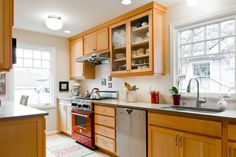 Kitchen On Pinterest Cabinets Maple Cabinets And Tiny Kitchens