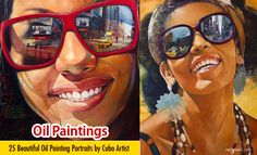 Oil Painting by Yunior Hurtado a famous artist from Cuba.
