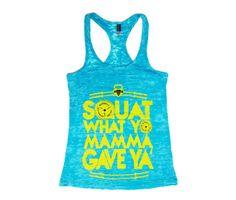 Squat Mamma Women's CrossFit Tank Top