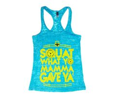 Squat Mamma Women's CrossFit Tank Top-I want this shirt!