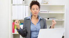 Cuatro claves para mantener la calma en el trabajo