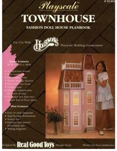 Barbie Patterns Site 5 - furniture tutorials and complete townhouse plans for fashion doll