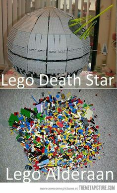 No I know what my son was doing when he left his Legos on the floor.