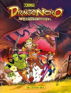 Risultati immagini per dragonero adventures