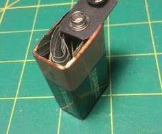 9 Volt Battery Secret Compartment