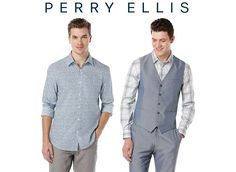 Men's Casual Shirts & More $11.98 (perryellis.com)