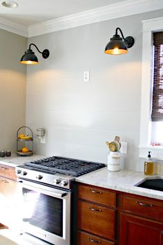 How to install a vented range hood and build a decorative wood hood over the range. Kitchen And Bath, New Kitchen, Kitchen Decor, Kitchen Ideas, French Kitchen, Kitchen Layout, Kitchen Inspiration, Kitchen Tips, Kitchen Storage
