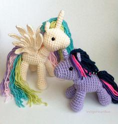 Crochet Pony de Amigurumi