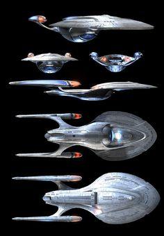 Odyssey Class Starship : USS Enterprise NCC-1701F