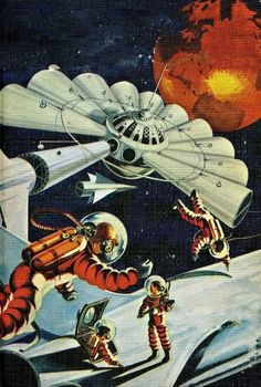 Graham Kaye - Tom Swift and his Outpost in Space, 1955.  Loved these books growing up!