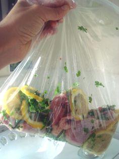 Arabafelice in cucina!: Pollo marinato al limone, il più facile del mondo!