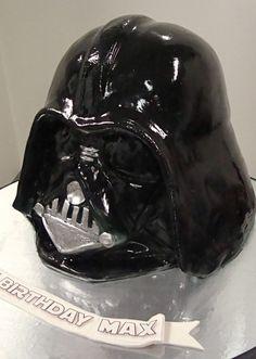 Cake - Darth Vader Helmet Cake