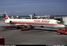 Trans World Airlines (TWA) McDonnell Douglas MD-82