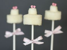 Ultimate favours marshmallow mini wedding cakes £1.30 each