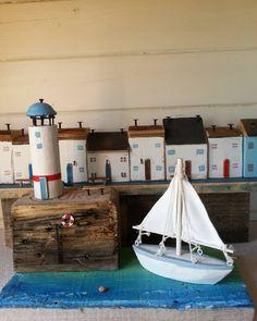 #Driftwoodartist #sail #saillife #lighthouse #coast #fishermanscottage #island…