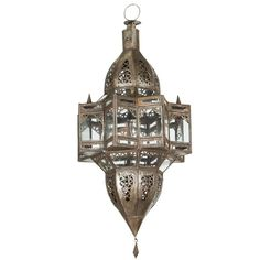 Moroccan Star Shape Pendant | From a unique collection of antique and modern chandeliers and pendants at https://www.1stdibs.com/furniture/lighting/chandeliers-pendant-lights/