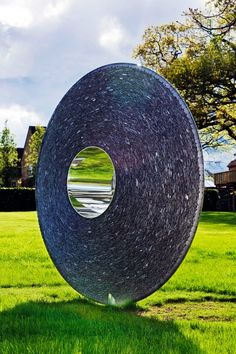 The Slate and steel Torus is new for 2012.  It has one side made of stainless steel and one of slate.  The slate side is on show here.