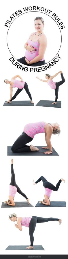 Pilates Workout During Pregnancy: Pilates is a low impact #pregnancy workout Before taking on any form of workout, it is very important to know which part of your body is to be focused on.find below the general sequence of workout for each trimester
